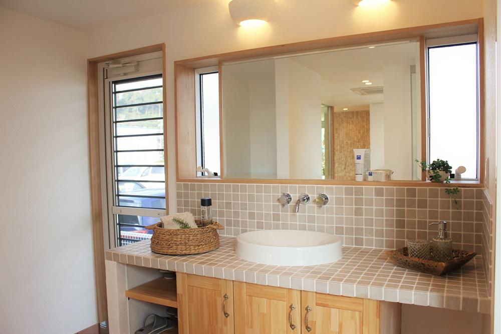 洗面化粧室リフォーム画像