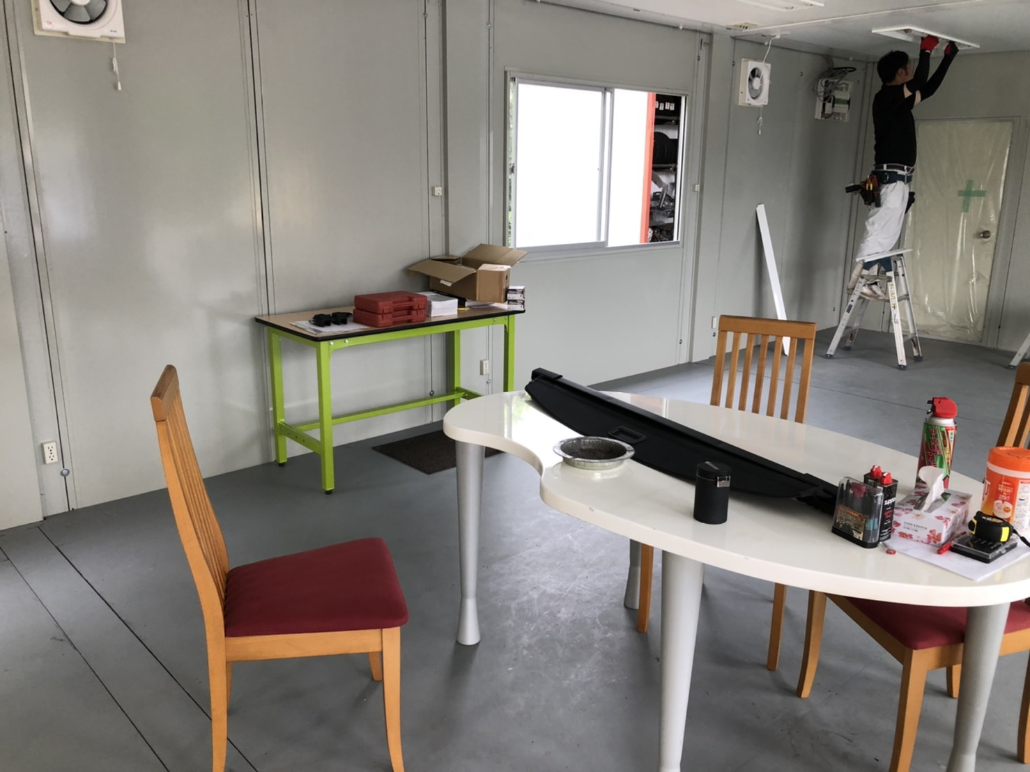 大分市内 T様事務所 プレハブ改装工事画像