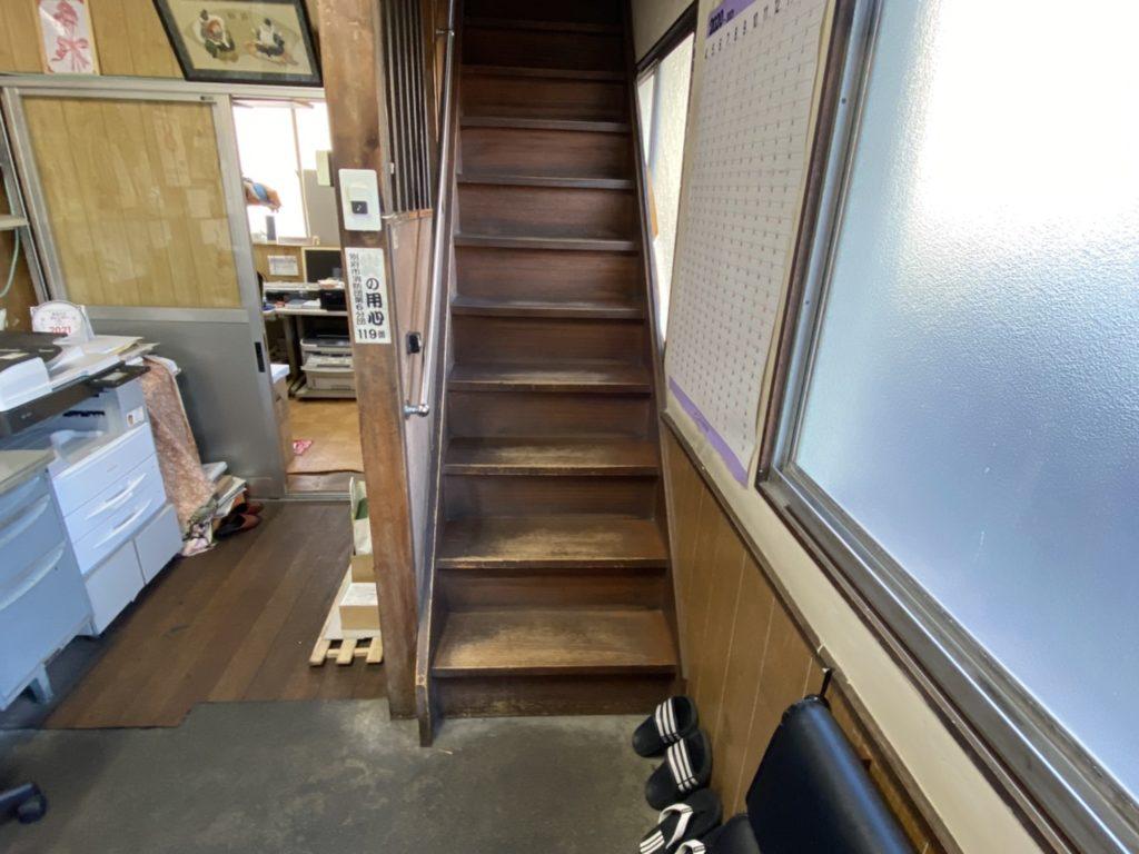 別府市より階段の勾配を緩やかにするご依頼